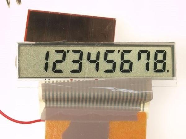電卓の液晶ディスプレイから偏光板を外してみる_c0164709_20590397.jpg
