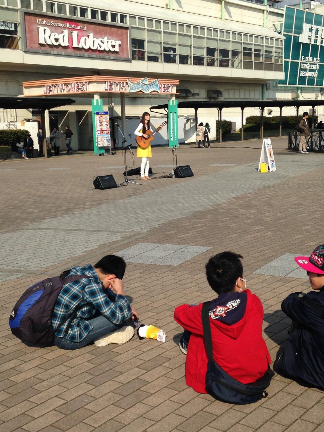 名古屋市港区、JETTY広場での演奏ありがとうございました!_f0373339_14195937.jpg