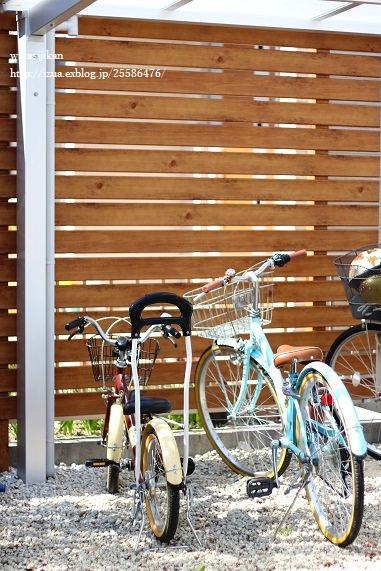 補助輪を外し、自転車に乗る息子_e0214646_11363632.jpg