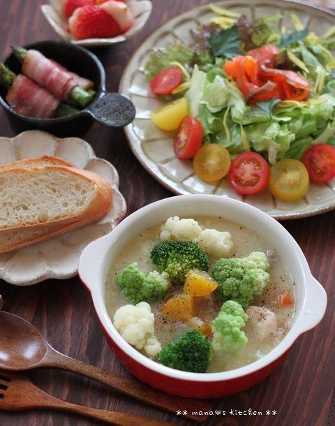 月曜鮭弁 ✿ クリームシチュー(๑¯﹃¯๑)♪_c0139375_11335510.jpg