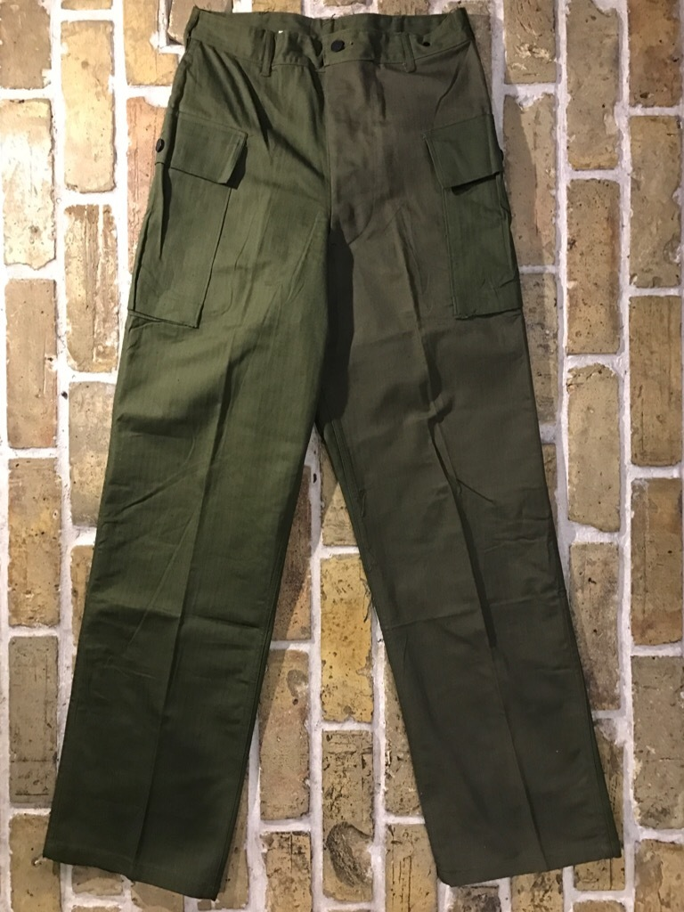 神戸店3/15(水)春物ヴィンテージ入荷!#3 US.Army Metal Button Chino Pants,41Khaki GasFlap,M43HBT Pants!_c0078587_02162688.jpg