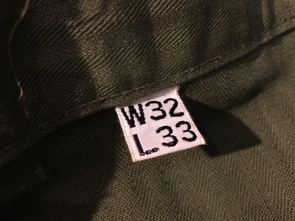 神戸店3/15(水)春物ヴィンテージ入荷!#3 US.Army Metal Button Chino Pants,41Khaki GasFlap,M43HBT Pants!_c0078587_02180319.jpg
