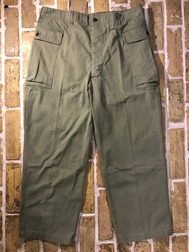 神戸店3/15(水)春物ヴィンテージ入荷!#3 US.Army Metal Button Chino Pants,41Khaki GasFlap,M43HBT Pants!_c0078587_02203120.jpg