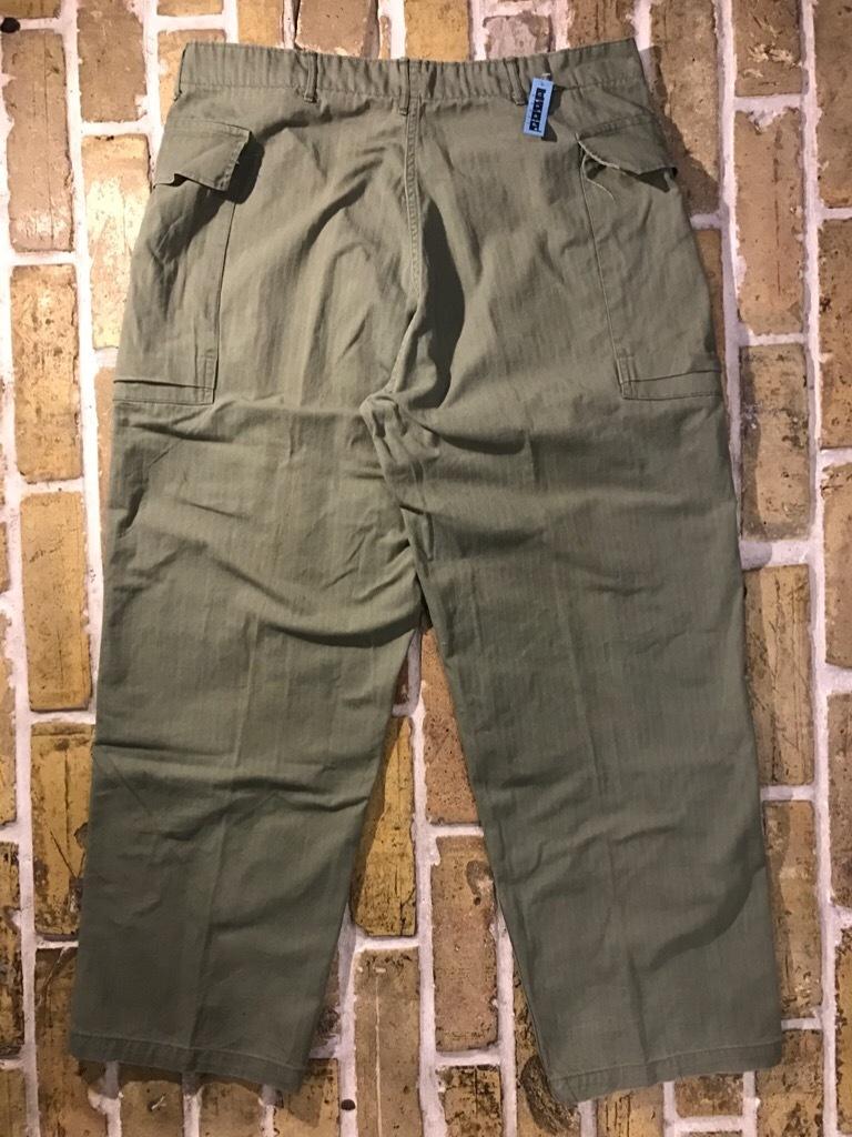 神戸店3/15(水)春物ヴィンテージ入荷!#3 US.Army Metal Button Chino Pants,41Khaki GasFlap,M43HBT Pants!_c0078587_02204266.jpg