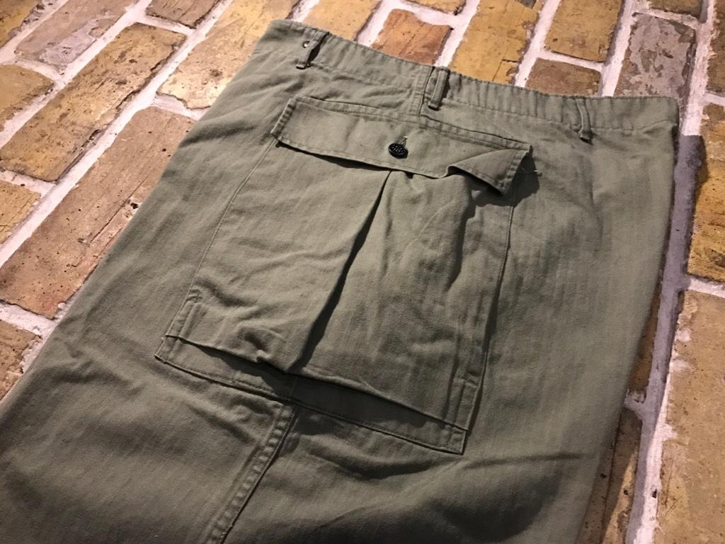 神戸店3/15(水)春物ヴィンテージ入荷!#3 US.Army Metal Button Chino Pants,41Khaki GasFlap,M43HBT Pants!_c0078587_02205198.jpg