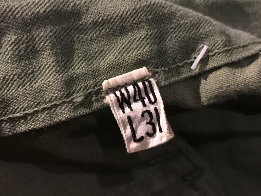 神戸店3/15(水)春物ヴィンテージ入荷!#3 US.Army Metal Button Chino Pants,41Khaki GasFlap,M43HBT Pants!_c0078587_02211284.jpg