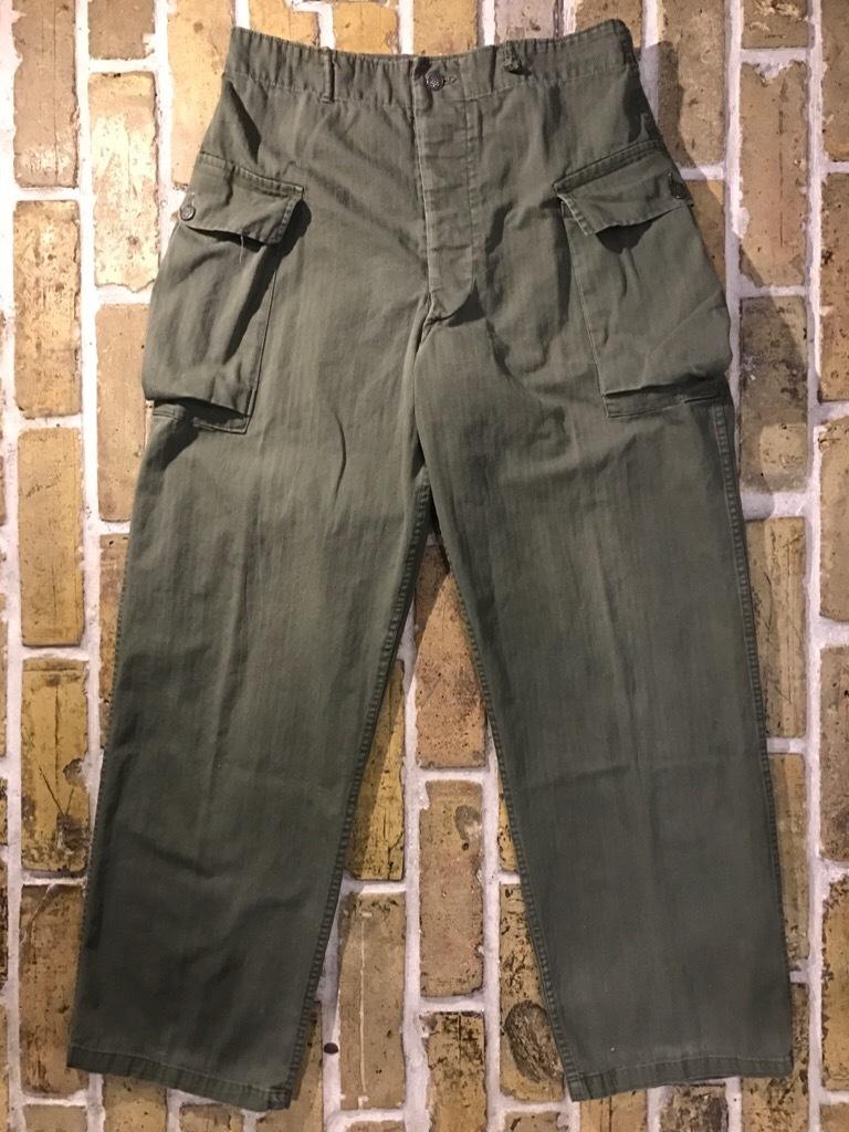 神戸店3/15(水)春物ヴィンテージ入荷!#3 US.Army Metal Button Chino Pants,41Khaki GasFlap,M43HBT Pants!_c0078587_02214117.jpg