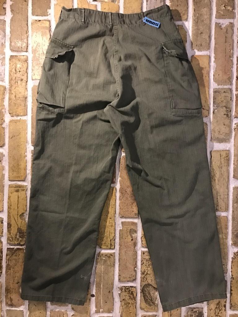 神戸店3/15(水)春物ヴィンテージ入荷!#3 US.Army Metal Button Chino Pants,41Khaki GasFlap,M43HBT Pants!_c0078587_02215353.jpg