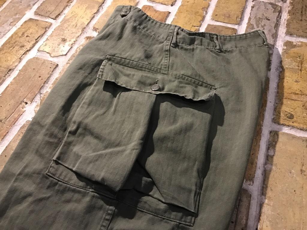 神戸店3/15(水)春物ヴィンテージ入荷!#3 US.Army Metal Button Chino Pants,41Khaki GasFlap,M43HBT Pants!_c0078587_02221009.jpg