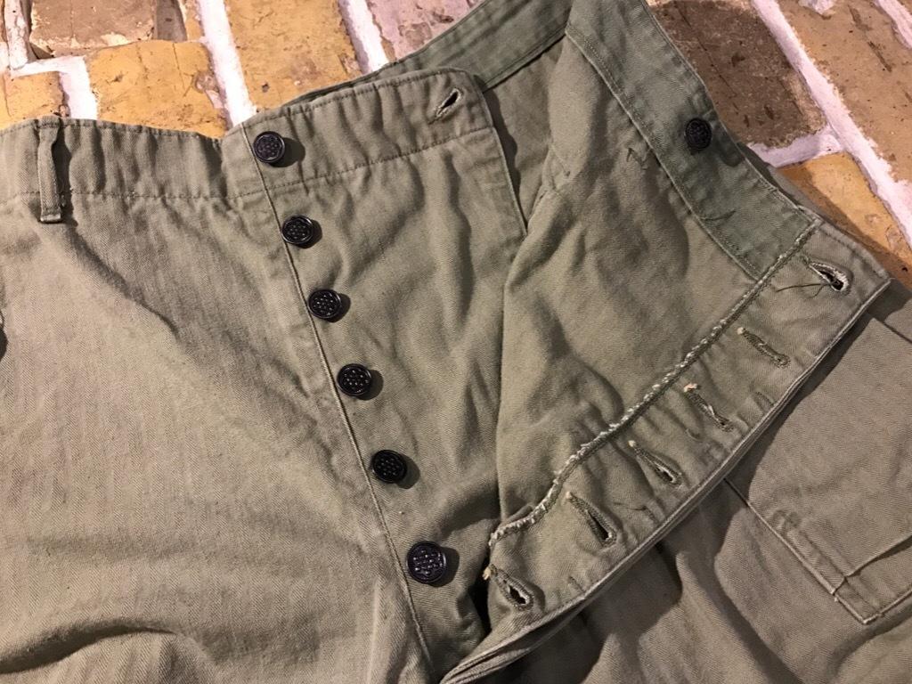 神戸店3/15(水)春物ヴィンテージ入荷!#3 US.Army Metal Button Chino Pants,41Khaki GasFlap,M43HBT Pants!_c0078587_02224668.jpg