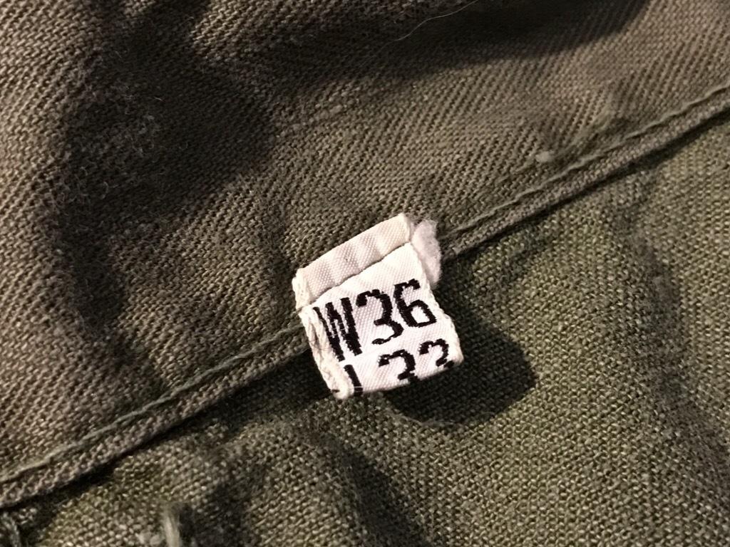 神戸店3/15(水)春物ヴィンテージ入荷!#3 US.Army Metal Button Chino Pants,41Khaki GasFlap,M43HBT Pants!_c0078587_02225805.jpg