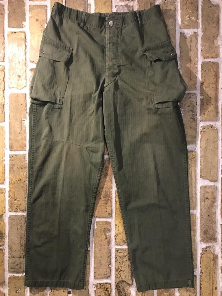 神戸店3/15(水)春物ヴィンテージ入荷!#3 US.Army Metal Button Chino Pants,41Khaki GasFlap,M43HBT Pants!_c0078587_02233270.jpg