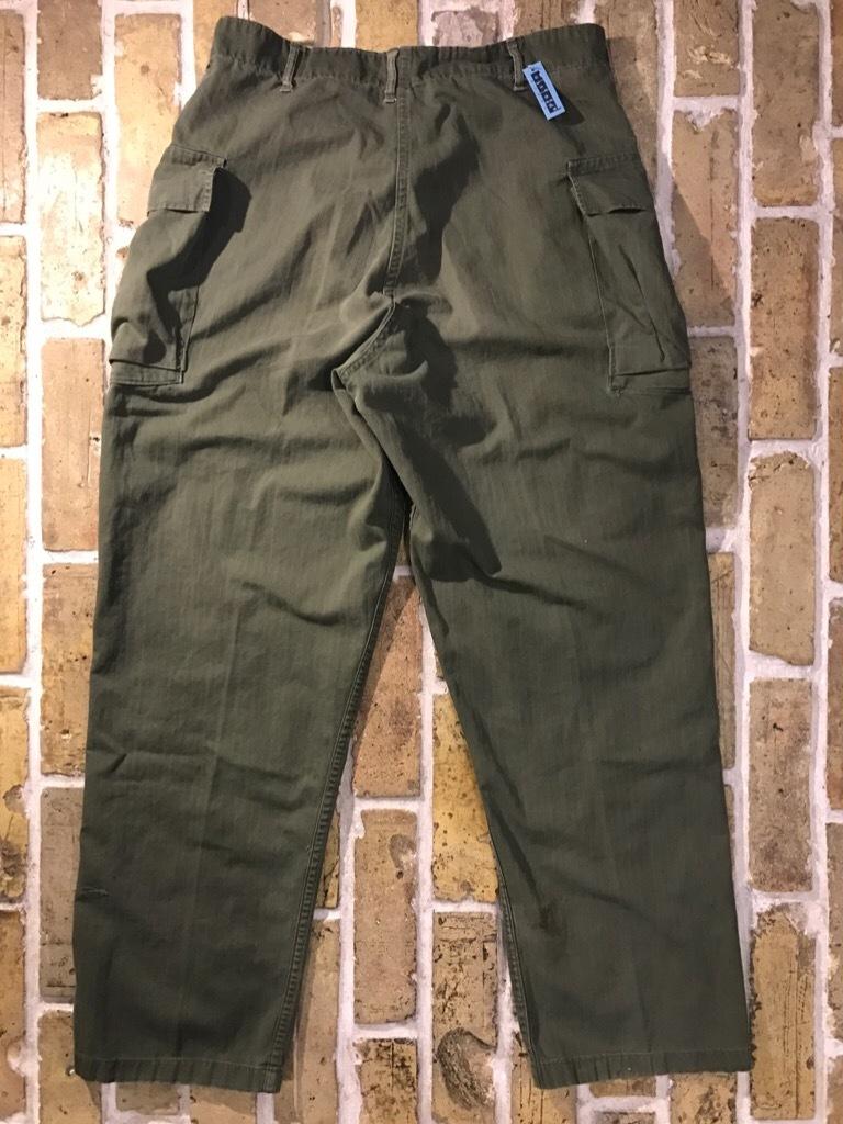 神戸店3/15(水)春物ヴィンテージ入荷!#3 US.Army Metal Button Chino Pants,41Khaki GasFlap,M43HBT Pants!_c0078587_02233948.jpg