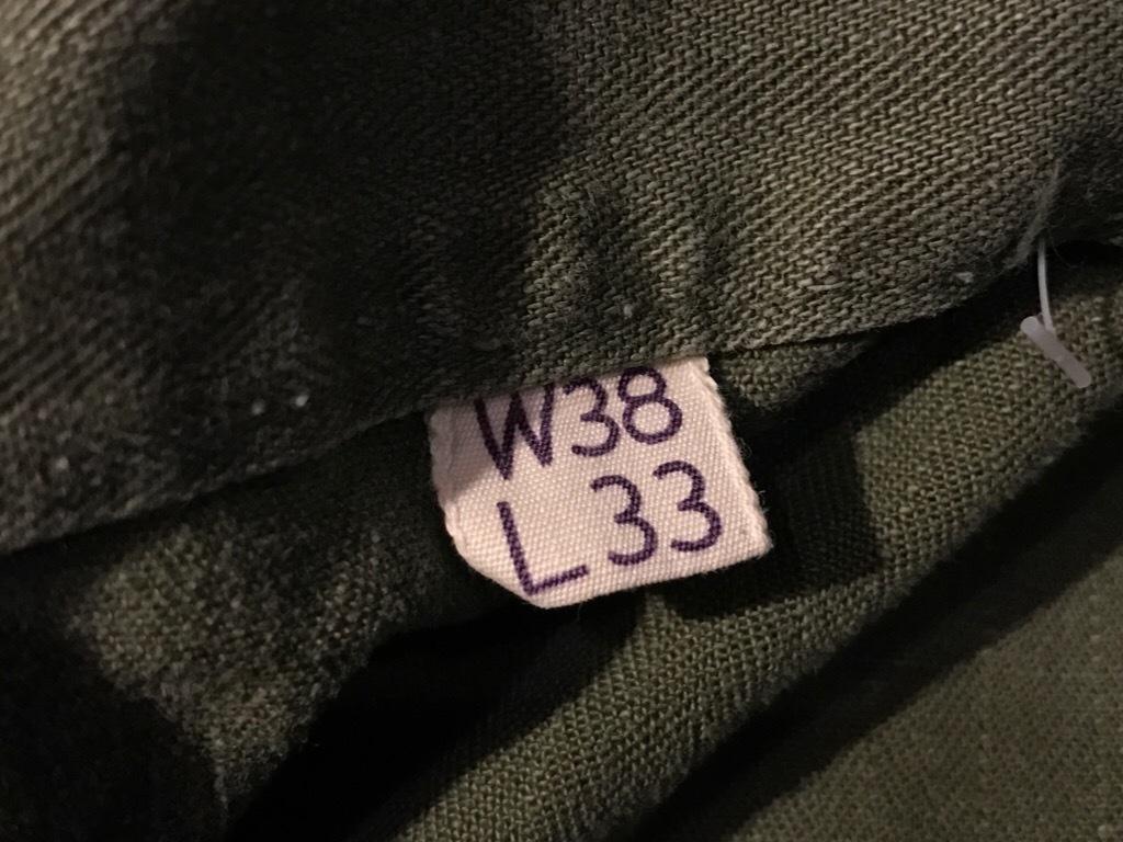 神戸店3/15(水)春物ヴィンテージ入荷!#3 US.Army Metal Button Chino Pants,41Khaki GasFlap,M43HBT Pants!_c0078587_02241757.jpg