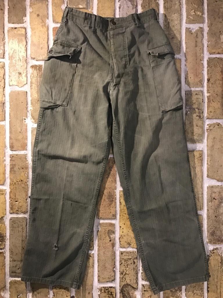 神戸店3/15(水)春物ヴィンテージ入荷!#3 US.Army Metal Button Chino Pants,41Khaki GasFlap,M43HBT Pants!_c0078587_02245913.jpg