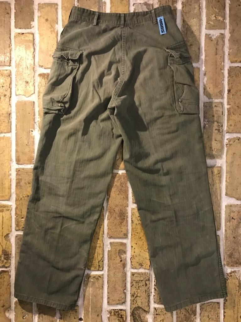 神戸店3/15(水)春物ヴィンテージ入荷!#3 US.Army Metal Button Chino Pants,41Khaki GasFlap,M43HBT Pants!_c0078587_02251034.jpg