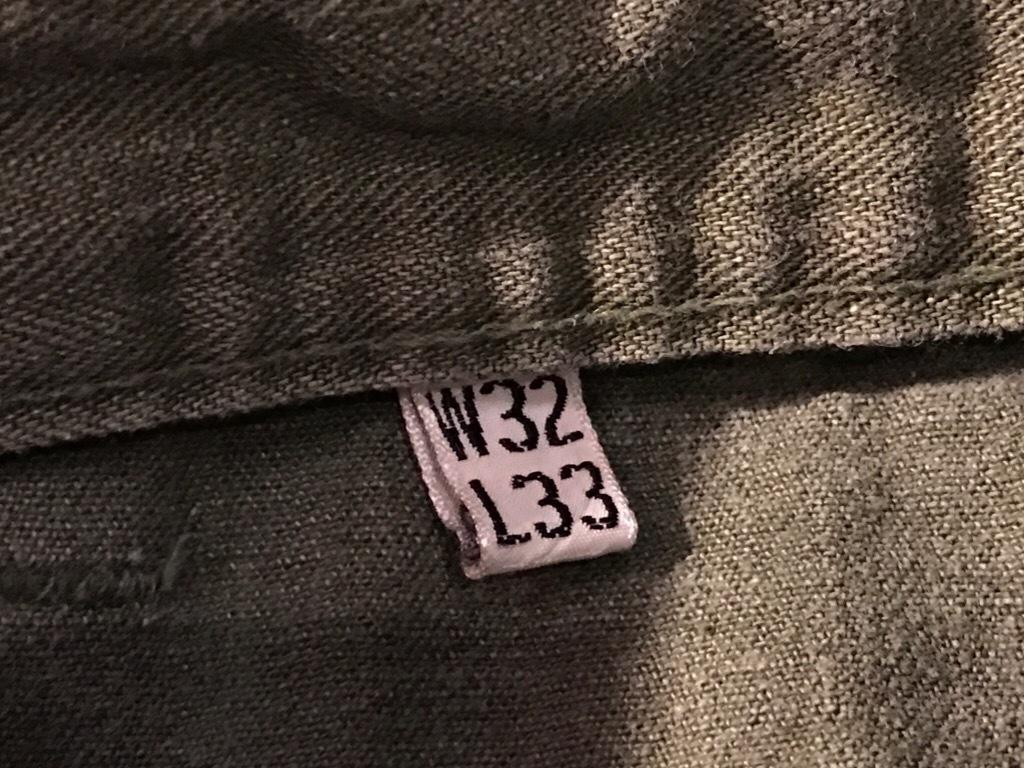 神戸店3/15(水)春物ヴィンテージ入荷!#3 US.Army Metal Button Chino Pants,41Khaki GasFlap,M43HBT Pants!_c0078587_02253108.jpg