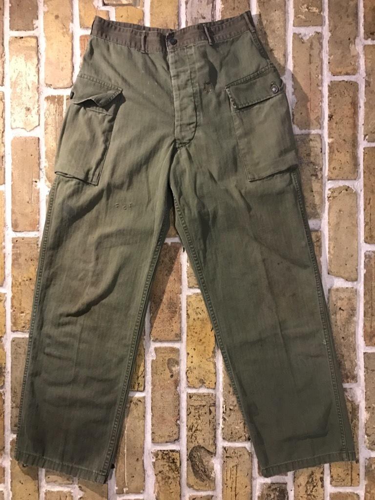 神戸店3/15(水)春物ヴィンテージ入荷!#3 US.Army Metal Button Chino Pants,41Khaki GasFlap,M43HBT Pants!_c0078587_02263211.jpg