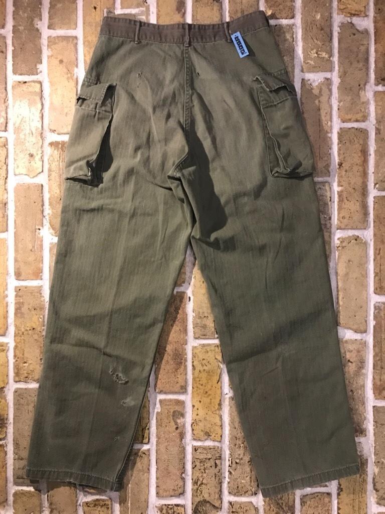 神戸店3/15(水)春物ヴィンテージ入荷!#3 US.Army Metal Button Chino Pants,41Khaki GasFlap,M43HBT Pants!_c0078587_02264182.jpg