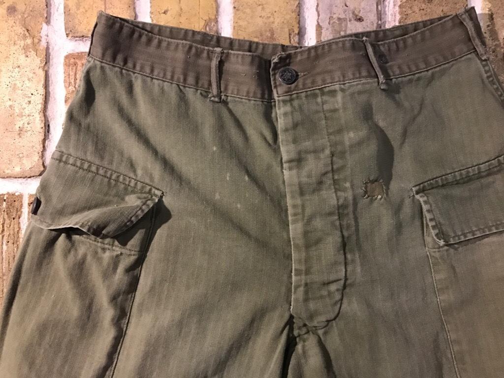 神戸店3/15(水)春物ヴィンテージ入荷!#3 US.Army Metal Button Chino Pants,41Khaki GasFlap,M43HBT Pants!_c0078587_02264790.jpg