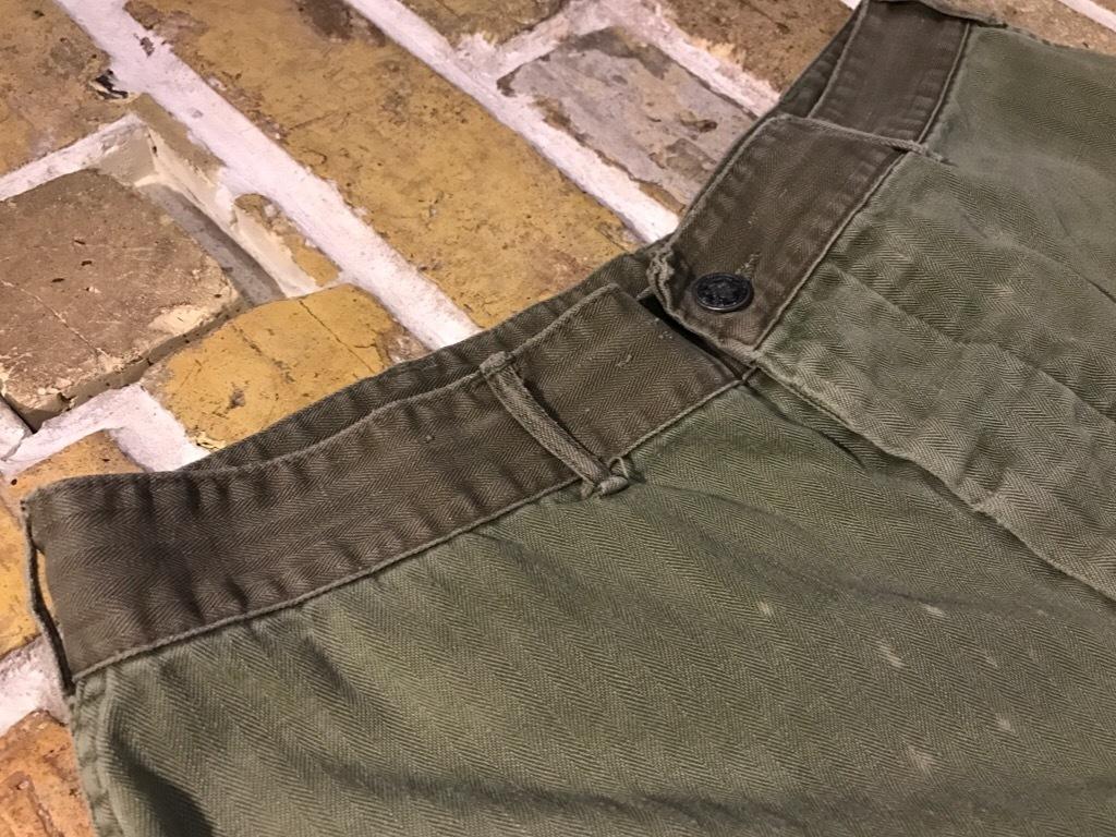 神戸店3/15(水)春物ヴィンテージ入荷!#3 US.Army Metal Button Chino Pants,41Khaki GasFlap,M43HBT Pants!_c0078587_02265434.jpg