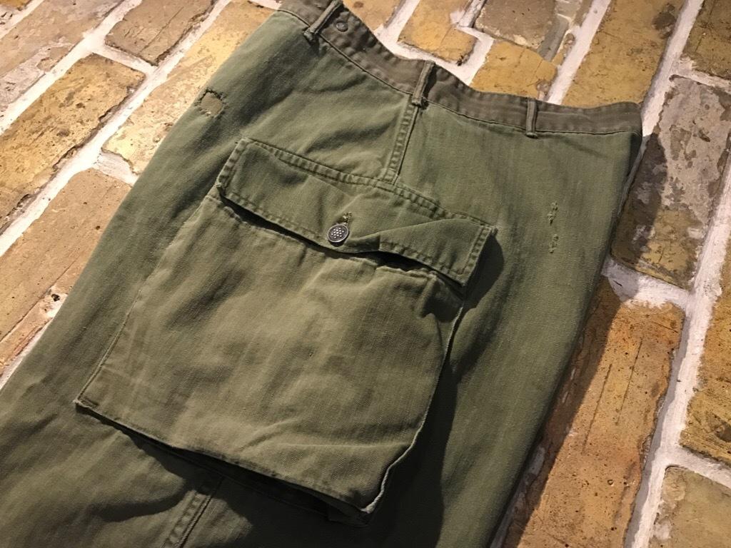 神戸店3/15(水)春物ヴィンテージ入荷!#3 US.Army Metal Button Chino Pants,41Khaki GasFlap,M43HBT Pants!_c0078587_02271119.jpg