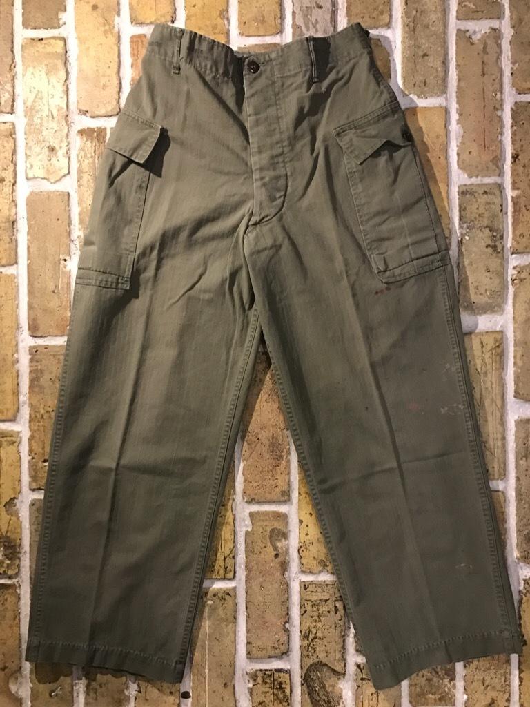 神戸店3/15(水)春物ヴィンテージ入荷!#3 US.Army Metal Button Chino Pants,41Khaki GasFlap,M43HBT Pants!_c0078587_02290087.jpg