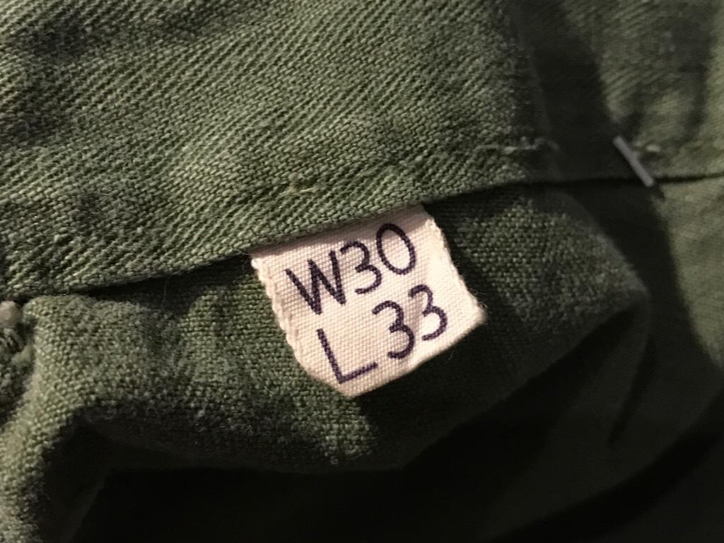 神戸店3/15(水)春物ヴィンテージ入荷!#3 US.Army Metal Button Chino Pants,41Khaki GasFlap,M43HBT Pants!_c0078587_02315511.jpg