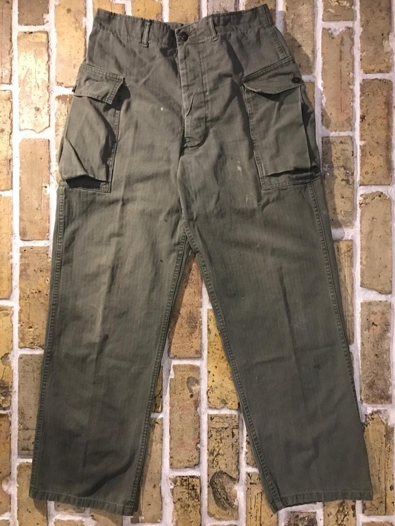 神戸店3/15(水)春物ヴィンテージ入荷!#3 US.Army Metal Button Chino Pants,41Khaki GasFlap,M43HBT Pants!_c0078587_02333044.jpg