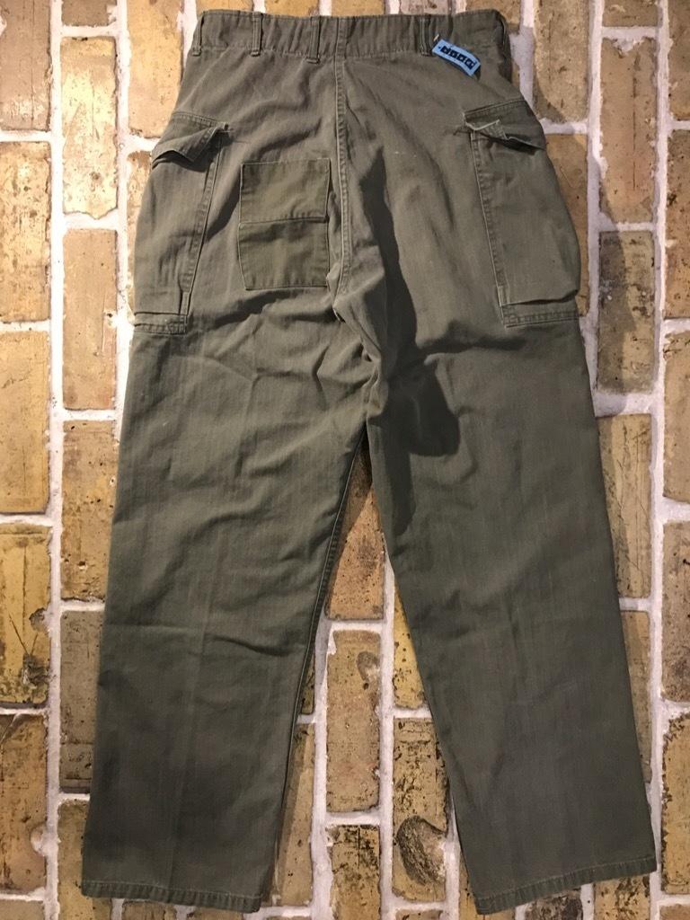 神戸店3/15(水)春物ヴィンテージ入荷!#3 US.Army Metal Button Chino Pants,41Khaki GasFlap,M43HBT Pants!_c0078587_02333788.jpg