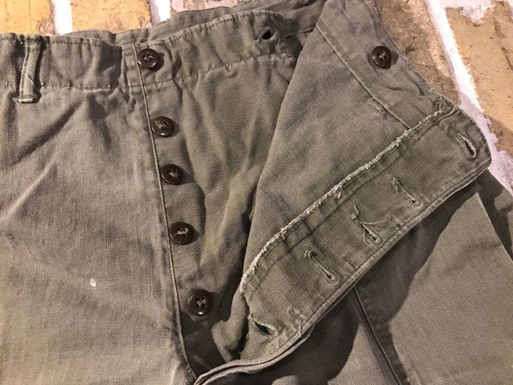 神戸店3/15(水)春物ヴィンテージ入荷!#3 US.Army Metal Button Chino Pants,41Khaki GasFlap,M43HBT Pants!_c0078587_02334444.jpg