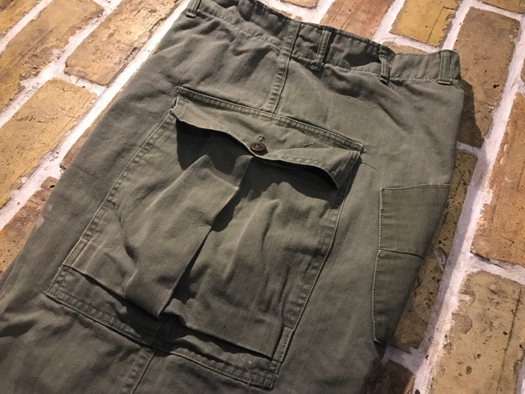 神戸店3/15(水)春物ヴィンテージ入荷!#3 US.Army Metal Button Chino Pants,41Khaki GasFlap,M43HBT Pants!_c0078587_02335224.jpg