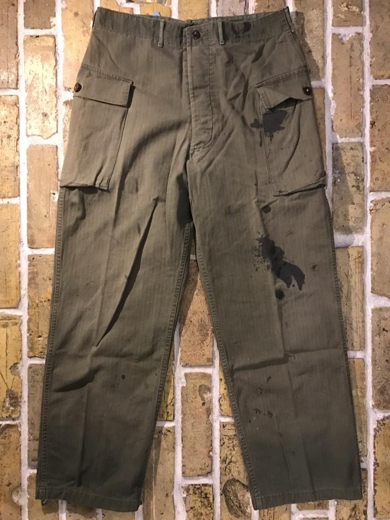神戸店3/15(水)春物ヴィンテージ入荷!#3 US.Army Metal Button Chino Pants,41Khaki GasFlap,M43HBT Pants!_c0078587_02351151.jpg