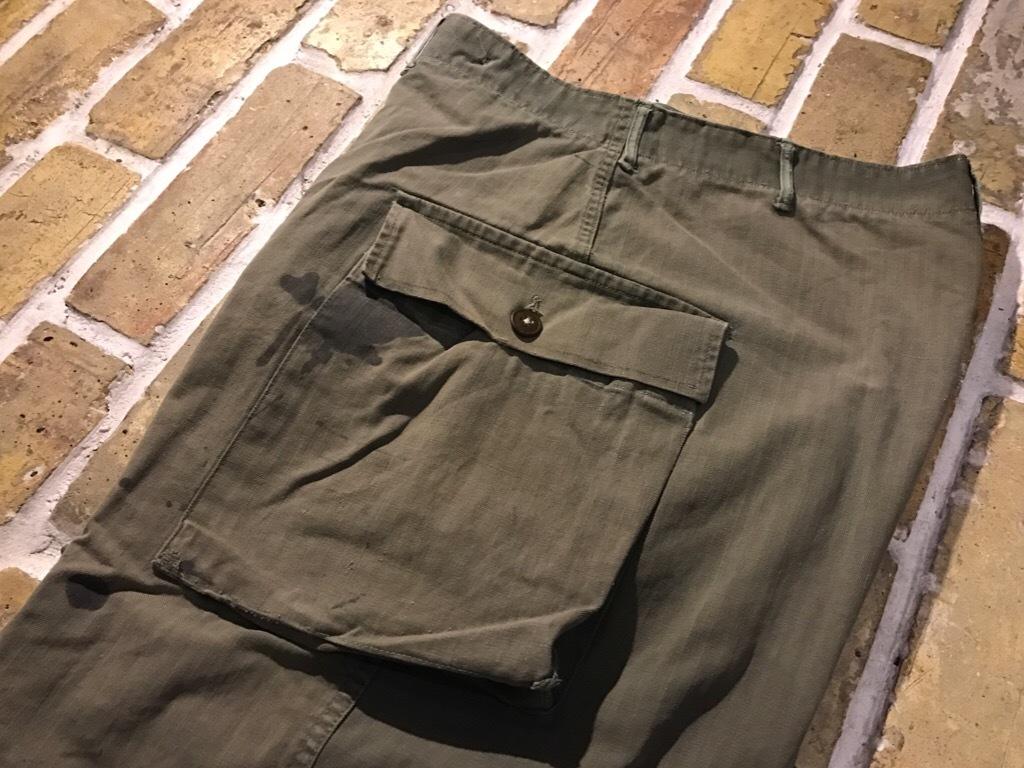 神戸店3/15(水)春物ヴィンテージ入荷!#3 US.Army Metal Button Chino Pants,41Khaki GasFlap,M43HBT Pants!_c0078587_02353673.jpg