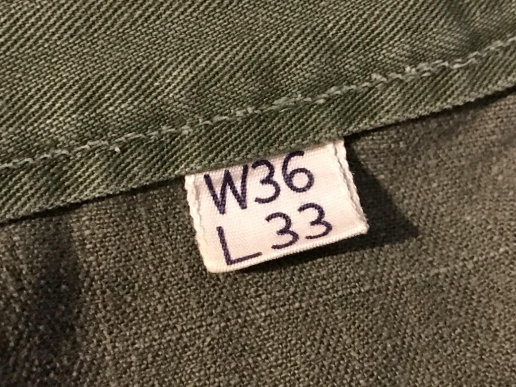 神戸店3/15(水)春物ヴィンテージ入荷!#3 US.Army Metal Button Chino Pants,41Khaki GasFlap,M43HBT Pants!_c0078587_02354420.jpg