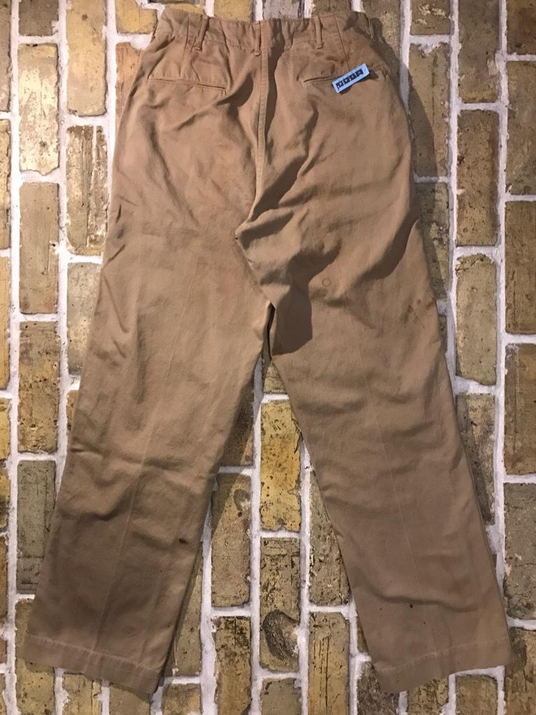 神戸店3/15(水)春物ヴィンテージ入荷!#3 US.Army Metal Button Chino Pants,41Khaki GasFlap,M43HBT Pants!_c0078587_02412416.jpg