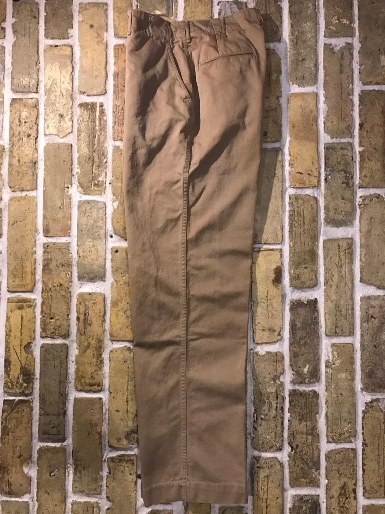 神戸店3/15(水)春物ヴィンテージ入荷!#3 US.Army Metal Button Chino Pants,41Khaki GasFlap,M43HBT Pants!_c0078587_02413269.jpg