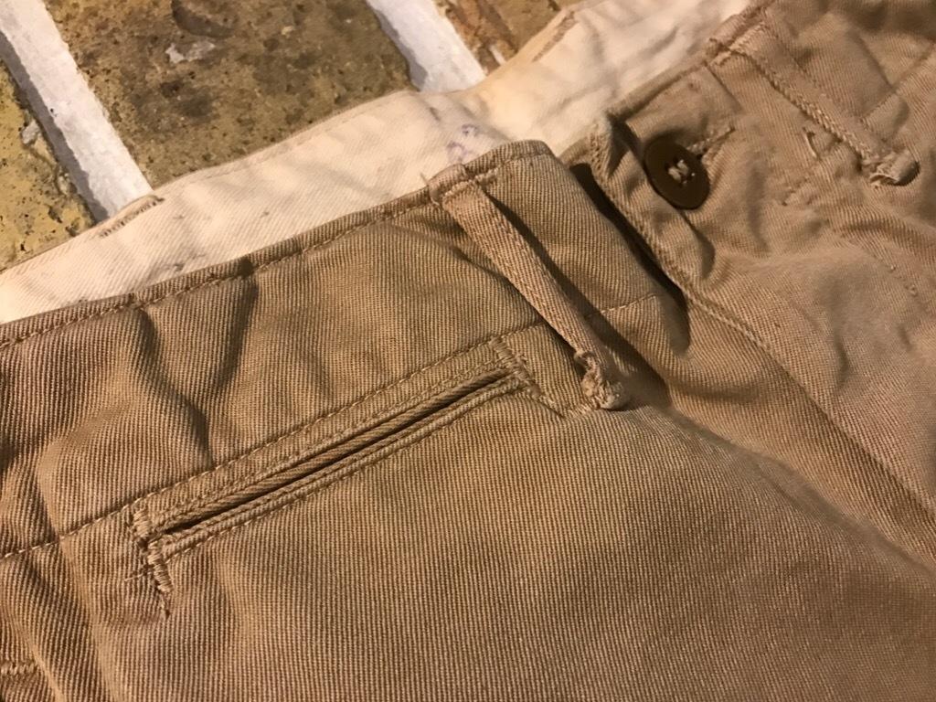 神戸店3/15(水)春物ヴィンテージ入荷!#3 US.Army Metal Button Chino Pants,41Khaki GasFlap,M43HBT Pants!_c0078587_02420765.jpg