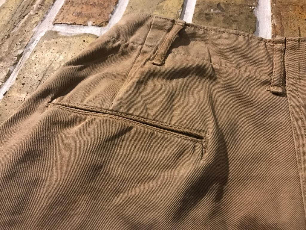 神戸店3/15(水)春物ヴィンテージ入荷!#3 US.Army Metal Button Chino Pants,41Khaki GasFlap,M43HBT Pants!_c0078587_02421615.jpg