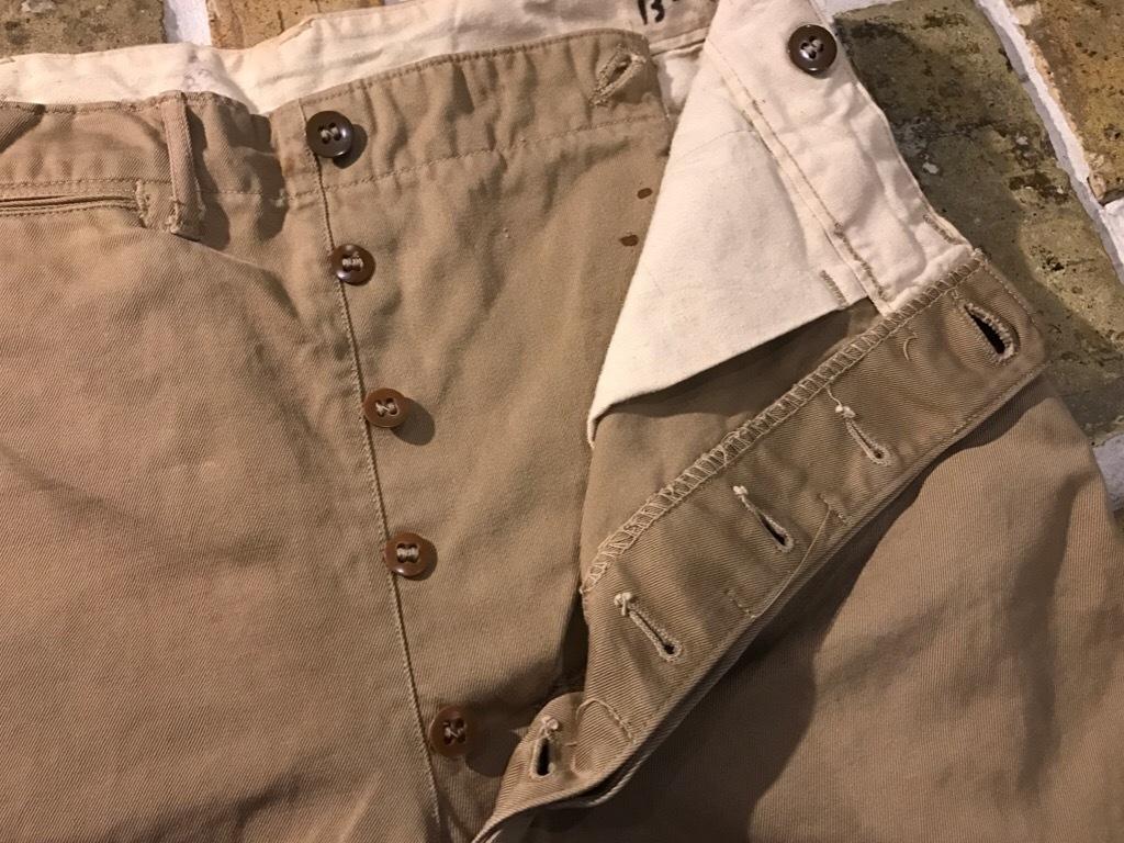 神戸店3/15(水)春物ヴィンテージ入荷!#3 US.Army Metal Button Chino Pants,41Khaki GasFlap,M43HBT Pants!_c0078587_02423152.jpg