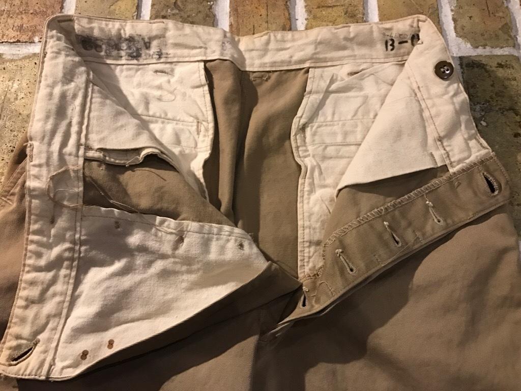 神戸店3/15(水)春物ヴィンテージ入荷!#3 US.Army Metal Button Chino Pants,41Khaki GasFlap,M43HBT Pants!_c0078587_02433208.jpg