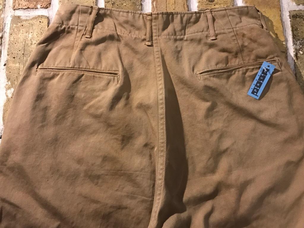 神戸店3/15(水)春物ヴィンテージ入荷!#3 US.Army Metal Button Chino Pants,41Khaki GasFlap,M43HBT Pants!_c0078587_02433941.jpg