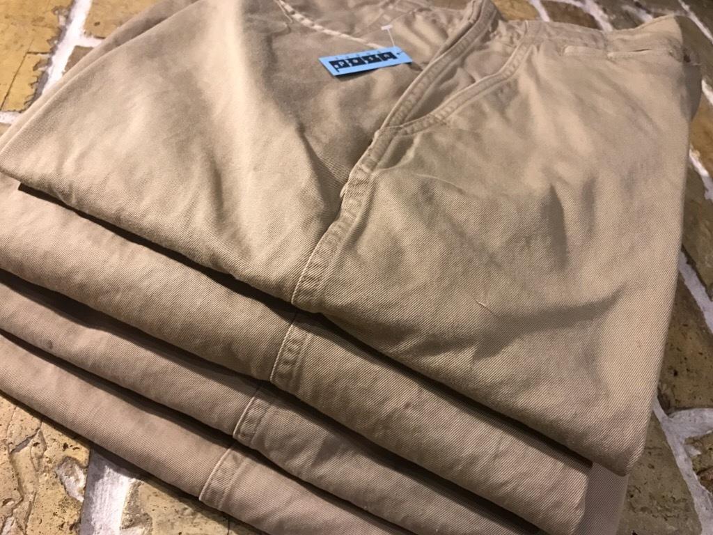 神戸店3/15(水)春物ヴィンテージ入荷!#3 US.Army Metal Button Chino Pants,41Khaki GasFlap,M43HBT Pants!_c0078587_02443477.jpg