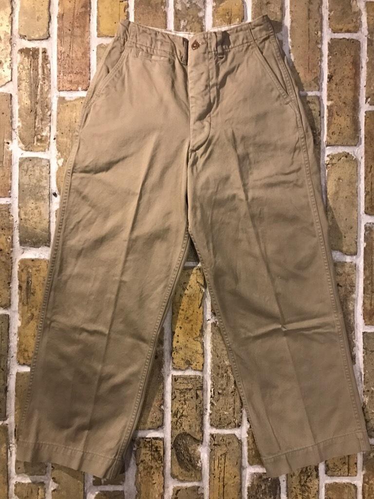 神戸店3/15(水)春物ヴィンテージ入荷!#3 US.Army Metal Button Chino Pants,41Khaki GasFlap,M43HBT Pants!_c0078587_02445822.jpg