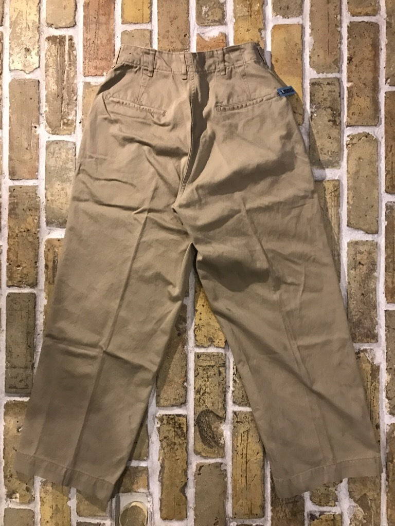 神戸店3/15(水)春物ヴィンテージ入荷!#3 US.Army Metal Button Chino Pants,41Khaki GasFlap,M43HBT Pants!_c0078587_02450753.jpg