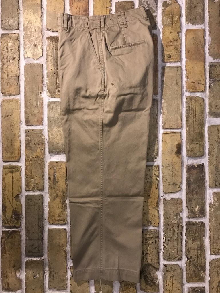 神戸店3/15(水)春物ヴィンテージ入荷!#3 US.Army Metal Button Chino Pants,41Khaki GasFlap,M43HBT Pants!_c0078587_02451214.jpg