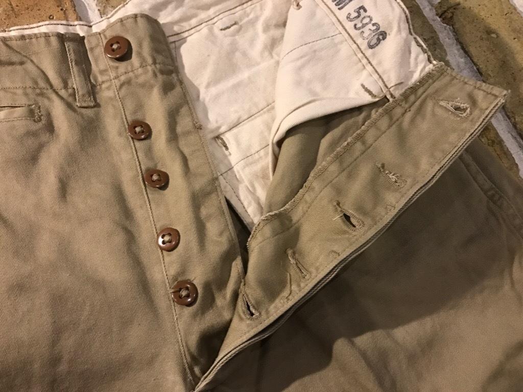 神戸店3/15(水)春物ヴィンテージ入荷!#3 US.Army Metal Button Chino Pants,41Khaki GasFlap,M43HBT Pants!_c0078587_02455391.jpg
