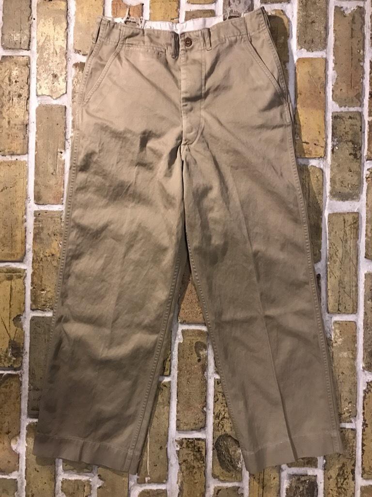 神戸店3/15(水)春物ヴィンテージ入荷!#3 US.Army Metal Button Chino Pants,41Khaki GasFlap,M43HBT Pants!_c0078587_02465747.jpg