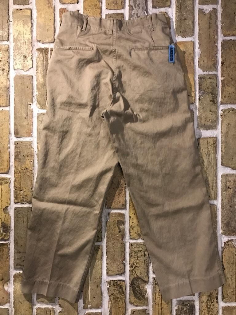 神戸店3/15(水)春物ヴィンテージ入荷!#3 US.Army Metal Button Chino Pants,41Khaki GasFlap,M43HBT Pants!_c0078587_02470388.jpg