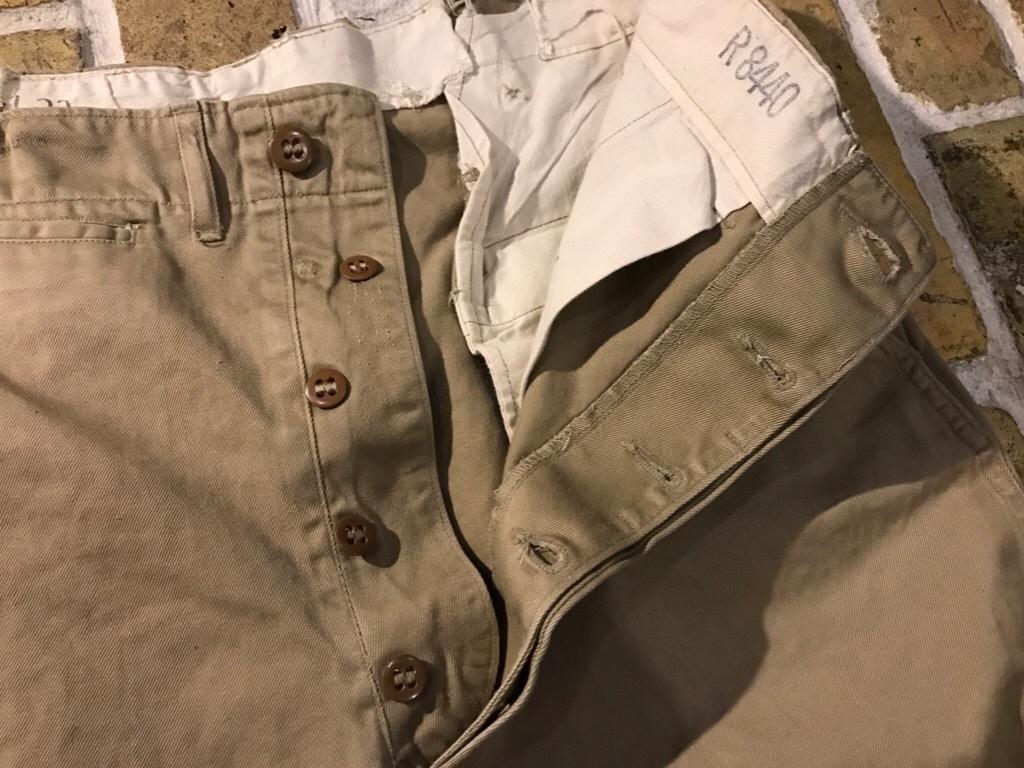 神戸店3/15(水)春物ヴィンテージ入荷!#3 US.Army Metal Button Chino Pants,41Khaki GasFlap,M43HBT Pants!_c0078587_02470844.jpg